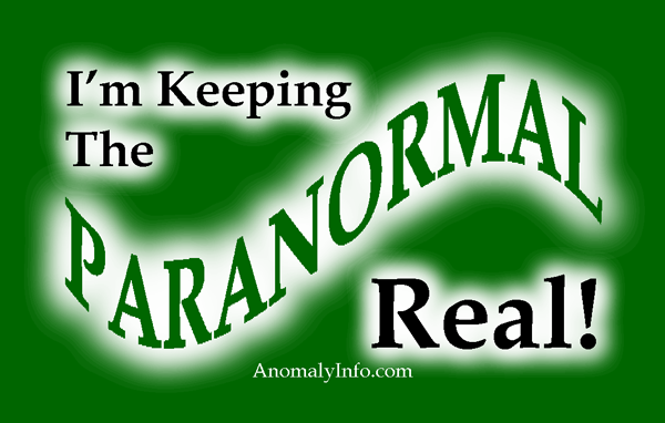 Keeping the Paranormal Real!