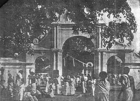 Kataragama temple, ca. 1953
