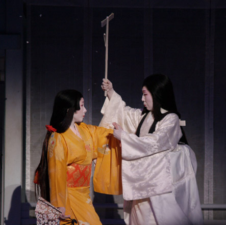 Yuki-Onna in a geisha play in 2006