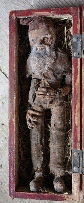 1866 mummified gnome anomalies the strange unexplained - Things you find on walls ...