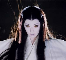Yuki-Onna from the movie Kwaidan (1964)