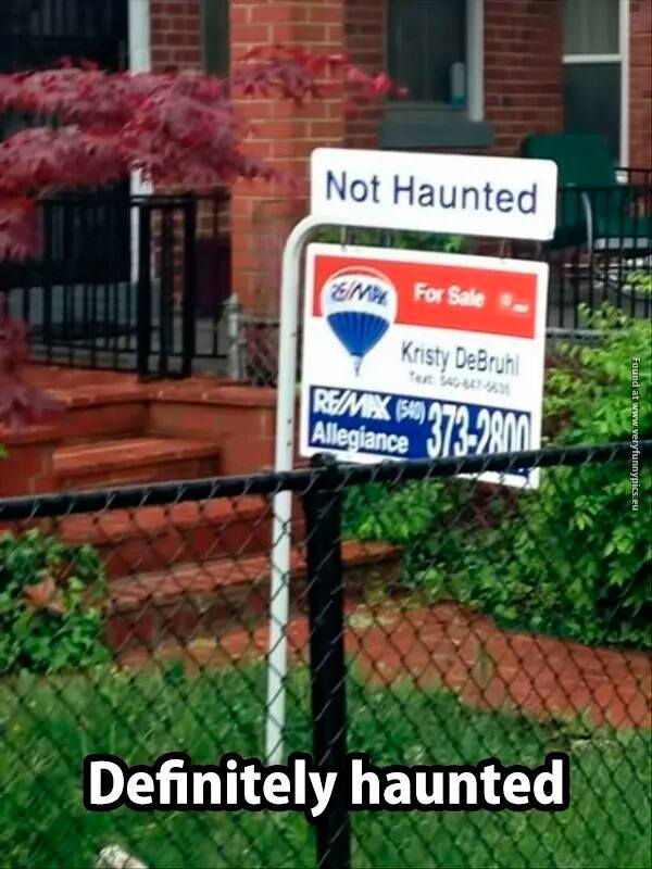 Not Haunted... ?