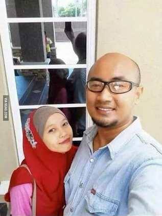Selfie gone wrong